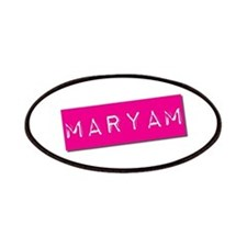 Maryam Punchtape Patches