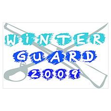 Winter Guard 2009 Poster