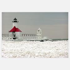 St. Joseph Lighthouse and Ice