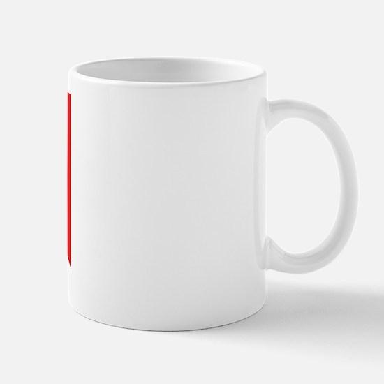 SCUBA DIVE FLAG Mug