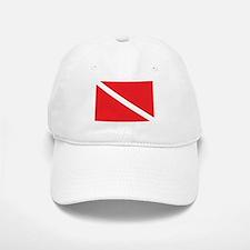 SCUBA DIVE FLAG Baseball Baseball Cap