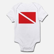 SCUBA DIVE FLAG Infant Creeper