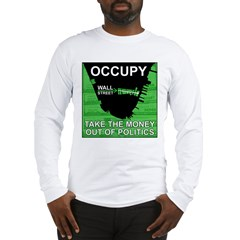 occupy wall street 01 Long Sleeve T-Shirt