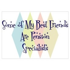 Pension Specialists Friends Poster
