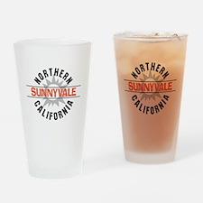 Sunnyvale California Drinking Glass