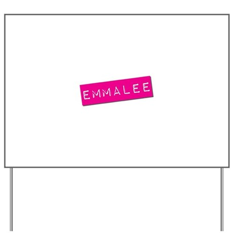 Emmalee Punchtape Yard Sign