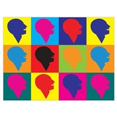 Speech-Language Pathology Pop Art Poster