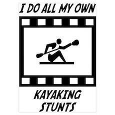 Kayaking Stunts Poster