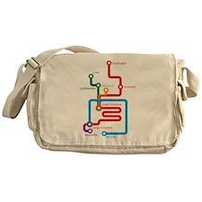 Cute Chart Messenger Bag