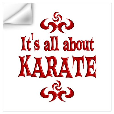 Karate Wall Decal