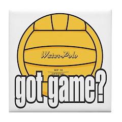 Water Polo Got Game? Tile Coaster