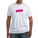 Maritza Punchtape Fitted T-Shirt