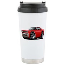 1969 Roadrunner Red Car Travel Mug