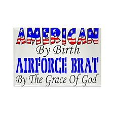 AF Brat By The Grace Of God Rectangle Magnet