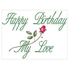 Lover Birthday Poster