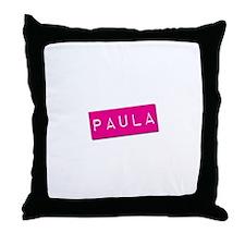 Paula Punchtape Throw Pillow