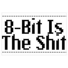 8 Bit Poster