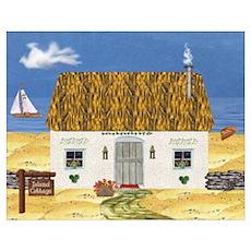 Island Cottage Un Poster