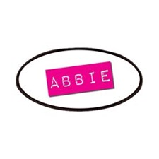 Abbie Punchtape Patches
