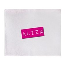 Aliza Punchtape Throw Blanket