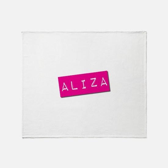 Aliza Punchtape Throw Blanket