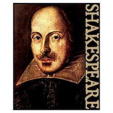 Shakespeare Portrait Poster