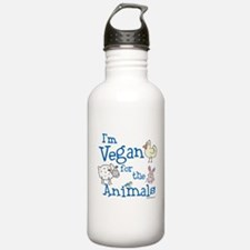Vegan for Animals Water Bottle