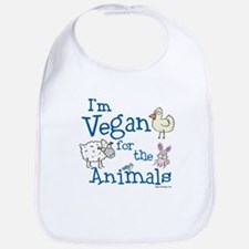 Vegan for Animals Bib