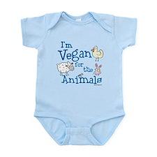 Vegan for Animals Infant Bodysuit