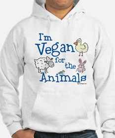 Vegan for Animals Hoodie