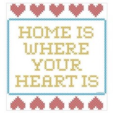 Where Your Heart Is Framed Print
