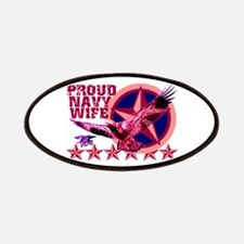 Proud Navy Wife Patches