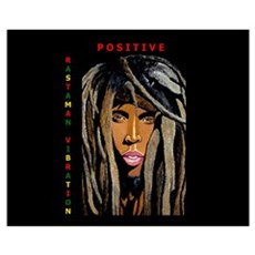 Positive Rastaman Vibration Framed Print