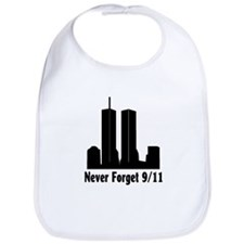 Never Forget for Kids Bib
