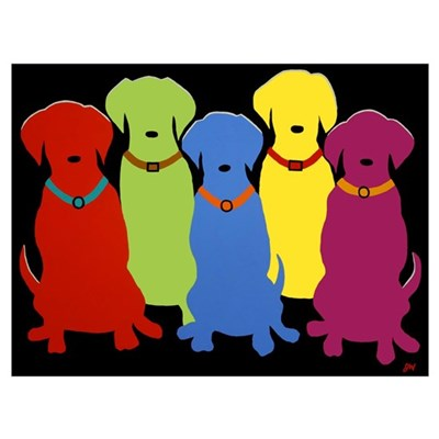 -- Five Labs Canvas Art