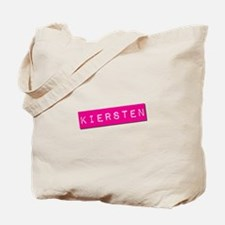Kiersten Punchtape Tote Bag