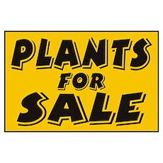 Plants sale Poster