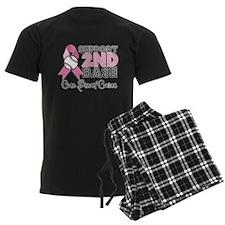 Support2ndBaseBreastCancer Pajamas