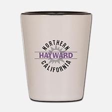 Hayward California Shot Glass