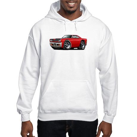 1969 Roadrunner Red-Black Hooded Sweatshirt