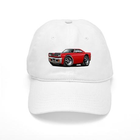 1969 Roadrunner Red-Black Cap