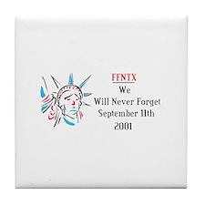 FFNTX 9/11 Tile Coaster