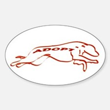Adopt in Red Decal