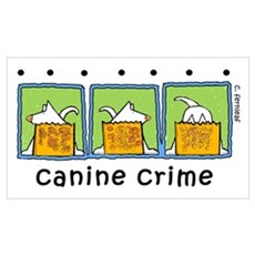 Canine Crime Poster