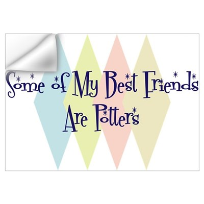 Potters Friends Wall Decal