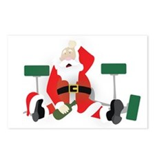 Tipsy Santa Postcards (Package of 8)