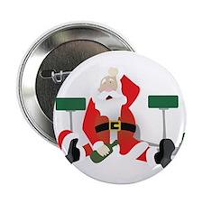 "Tipsy Santa 2.25"" Button"