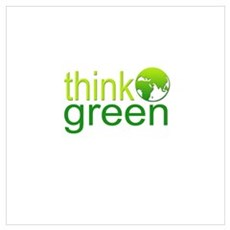 Think Green III Poster