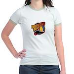 Firefighter Daughter Jr. Ringer T-Shirt