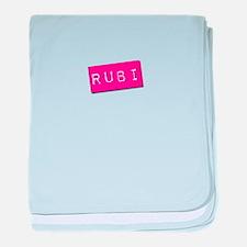 Rubi Punchtape baby blanket